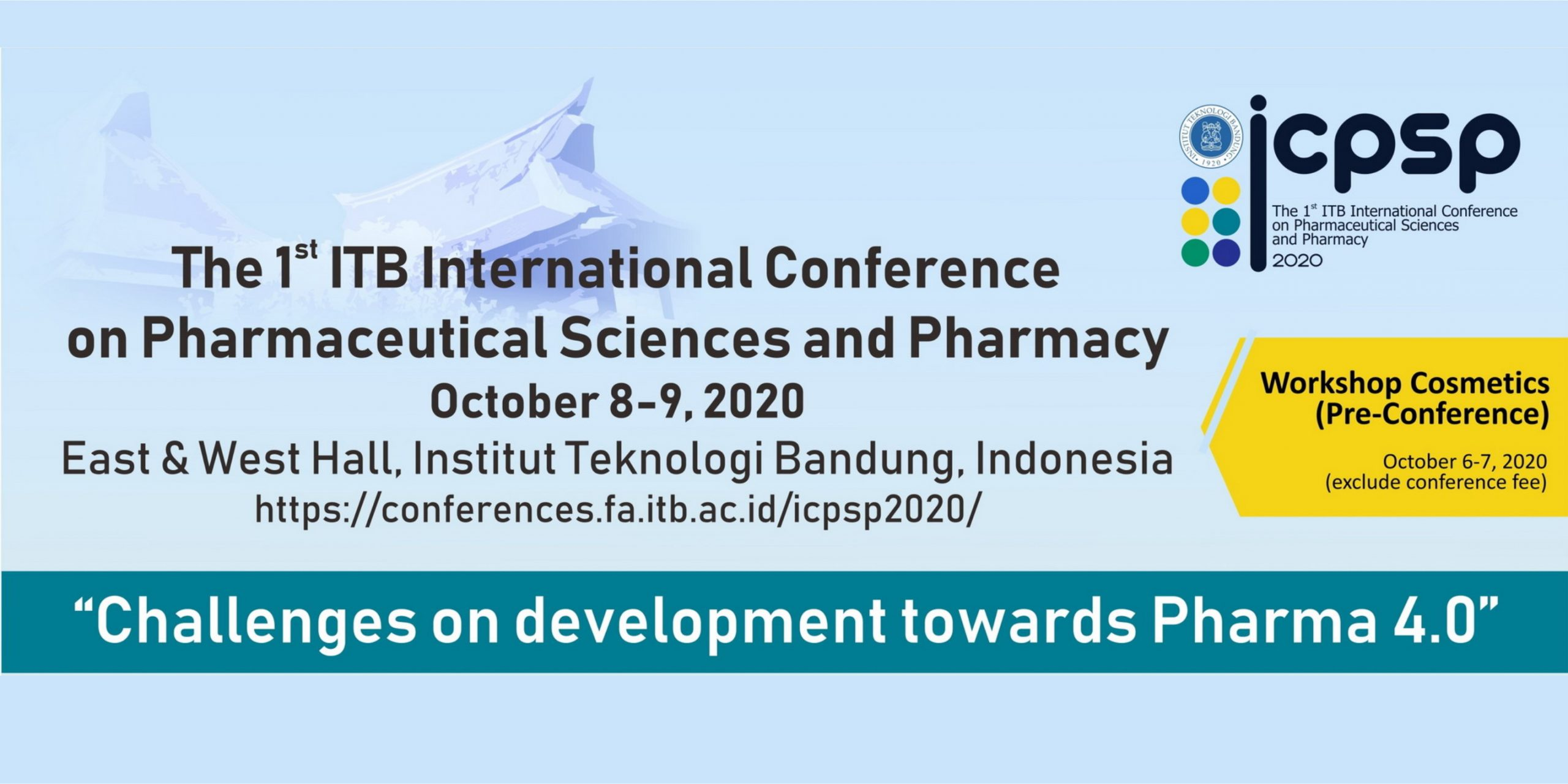 International Conference on Pharmaceutical Sciences and Pharmacy (ICPSP 2020)