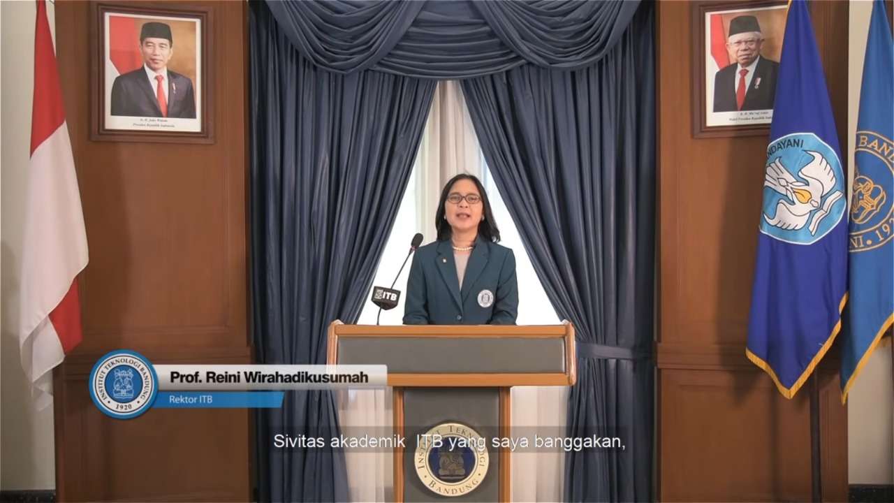 Rektor ITB Sampaikan Kebijakan Perpanjangan Pembatasan Kegiatan Tridarma di Kampus ITB