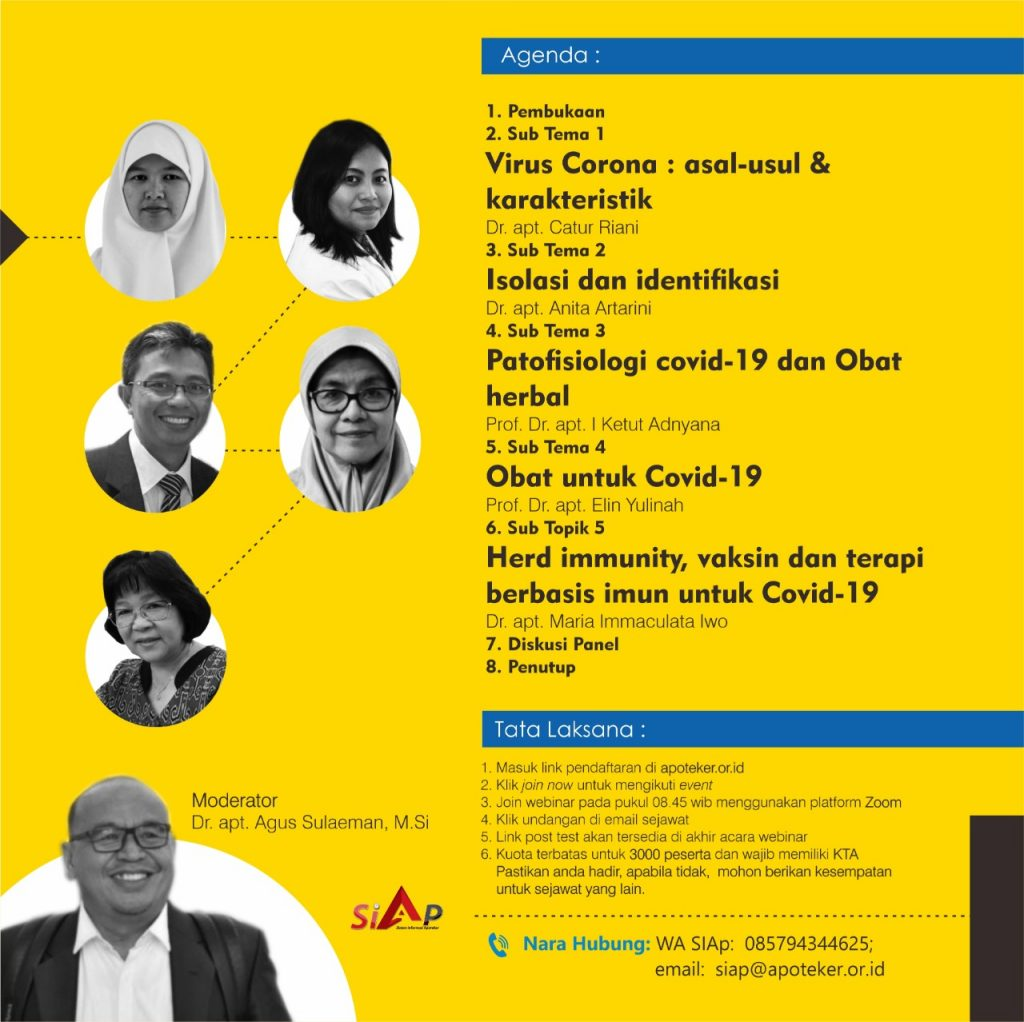 Covid 19 Update From Science To Therapy Sekolah Farmasi