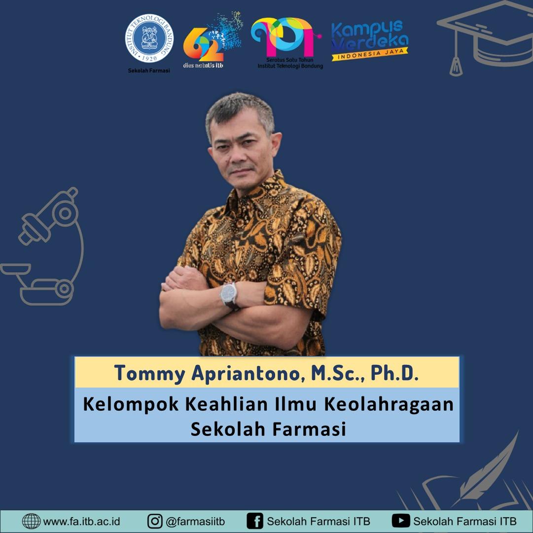 Lecturer Profile : Tommy Apriantono, M.Sc., Ph.D.